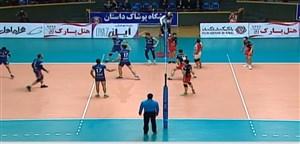 خلاصه والیبال شهرداری ارومیه 0 - سایپا تهران 3