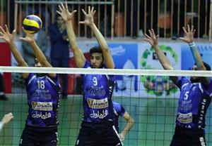لیگ والیبال؛ نبردهای جذاب در تهران و گنبد