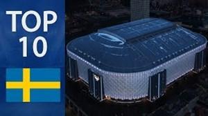 10 استادیوم بزرگ کشور سوئد