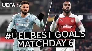 برترین گلهای هفته ششم لیگ اروپا 19-2018