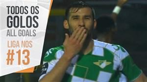 تمام گل های هفته سیزدهم لیگ پرتغال
