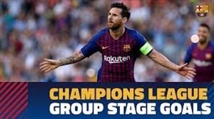 گلهای بارسلونا در دور گروهی لیگقهرماناناروپا 19-2018