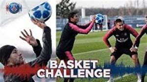 چالش بسکتبال با ستارگان پاری سن ژرمن