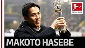 ماکوتو هاسبه ;  بهترین بازیکن آسیایی بوندسلیگای آلمان