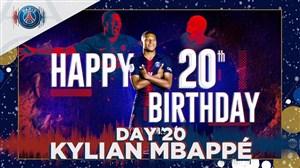 بمناسبت تولد بیست سالگی کیلیان امباپه