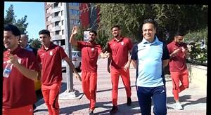 همسرایی بازیکنان تیم امید درباره رضا شاهرودی