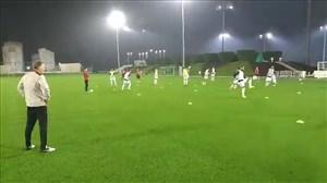 تمرین امروز تیم ملی در قطر (30-09-97)
