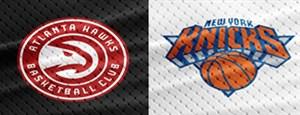 خلاصه بسکتبال آتلانتا - نیویورک نیکس