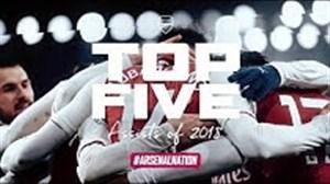 5 پاس گل برتر آرسنال در سال 2018