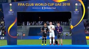 بیل بهترین و کایو دومین بازیکن جام باشگاه های جهان 2018