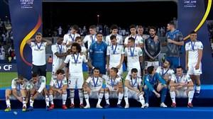 مراسم اهدای مدال و جام قهرمانی رئال مادرید (جامباشگاههایجهان)