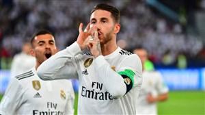 گل دوم رئال مادرید به اتلتیکو مادرید (پنالتی -راموس)