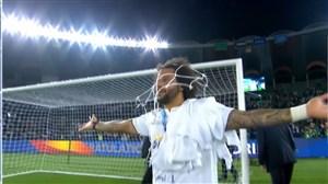 يادگاري مارسلو پس از قهرماني جام باشگاههاي جهان