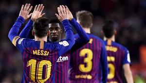 پیش بازی ختافه - بارسلونا
