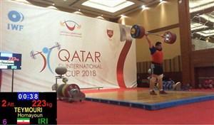 پایان کار سنگین وزن ایران با برنز قطرکاپ