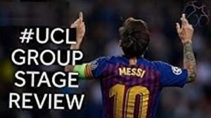 مرور جذاب مرحله گروهی لیگ قهرمانان اروپا 19-2018