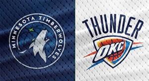 خلاصه بسکتبال اوکلاهاماسیتی - مینه سوتا تیمبرولوز