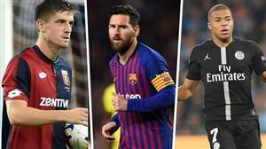 بررسی بهترین گلزنان پنج لیگ برتر اروپا