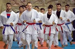 دیدار وزیر ورزش از اردوی آماده سازی ملی پوشان کاراته