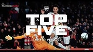 5 تکنیک برتر سال 2018 باشگاه آرسنال