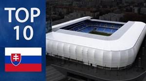 بزرگ ترین استادیوم های کشور اسلواکی