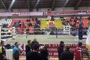 مسابقات بوکس قهرمانی جوانان کشور در رشت آغاز شد