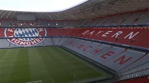 ظاهر جدید استادیوم آلیانس آرنا در سال نوی میلادی