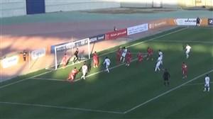 تک گل تیم ملی امید برابر اردن روی ارسال رزاقپور و ضربه سر نامداری