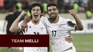 کلیپ AFC برای معرفی تیم ملی ایران در جام ملت ها
