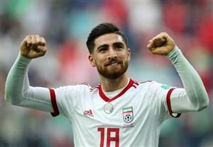 رفع مصدومیت جهانبخش ، خبری خوش برای تیم ملی ایران