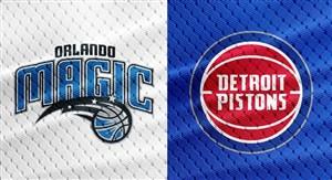 خلاصه بسکتبال دیترویت پیستونز - اورلاندو مجیک