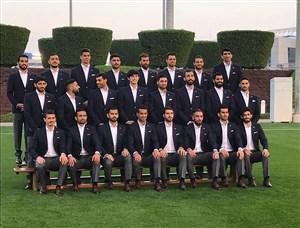 وسواس کی روش در ثبت عکس تیمی کاروان ایران در قطر