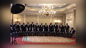 عکس تیمی از شاهزادههای پارسی در دوحه قطر