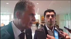 آخرین صحبت های کارلوس کیروش قبل از ترک دوحه