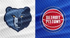 خلاصه بسکتبال دیترویت پیستونز - ممفیس گریزلیز