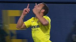 گل اول ویارئال به رئال مادرید (سانتی کازورلا)