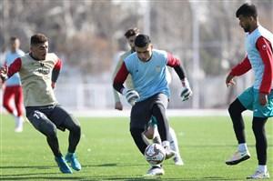 آغاز تمرینات تیم فوتبال امید