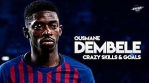 مهارتهای عثمان دمبله در بارسلونا 19-2018