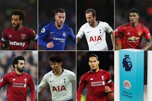 کاندیداهای برترین بازیکن ماه دسامبر لیگ جزیره 19-2018