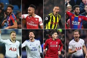 کاندیداهای برترین گل ماه دسامبر لیگ جزیره 19-2018
