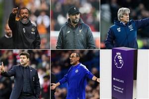 کاندیداهای برترین سرمربی ماه دسامبر لیگ جزیره 19-2018