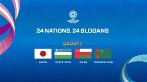 معرفی تیم های گروه F جام ملت های آسیا 2019