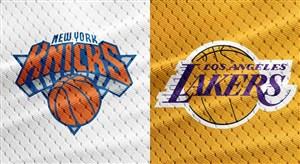 خلاصه بسکتبال لس آنجلس لیکرز - نیویورک نیکس