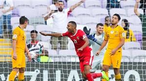 گزارش پراحساس و جذاب گزارشگر اردنی در لحظه گلزنی مقابل استرالیا