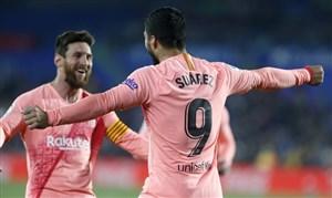 ختافه 1-2 بارسلونا: بالا افتادن!