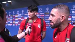 حواشی و مصاحبه های بعد از بازی ایران - یمن