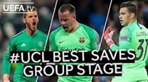 بهترین سیوهای مرحله گروهی لیگ قهرمانان اروپا