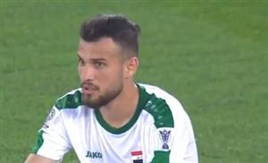 گل به خودی زیدانی بازیکن عراق مقابل ویتنام