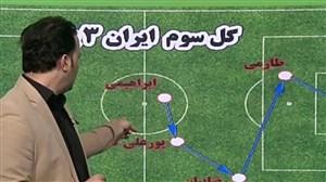 آنالیز گرافیکی بازی ایران - یمن