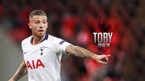 عملکرد توبی آلدرویرلد در پیراهن تاتنهام فصل 19-2018